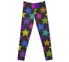 Stars on black Leggings Gothic Leggings, Black Leggings, Pajama Pants, Trends, Stars, Trending Outfits, People, T Shirt, Shopping