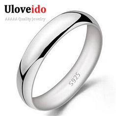 Find More Rings Information about 2015 Unisex Nuevos Anillos Bijoux Ring Women Sterling Silver Jewelry Mens Rings Anel De Prata Joias for Wedding Ulove J017,High Quality jewelry closure,China jewelry gauge Suppliers, Cheap jewelry desk from ULOVE Fashion