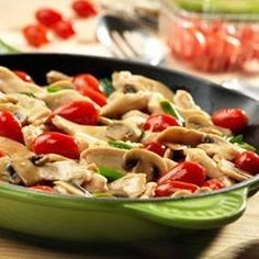 Chicken with Grape Tomatoes and Mushrooms - Allrecipes.com