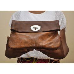 fe4b594625b4 Genuine leather  foldover clutch  Africa  Nigeria  Ghana  brachahleather   handcrafted