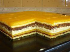 sunquickové rezy - orange juice Czech Recipes, Russian Recipes, Delicious Desserts, Dessert Recipes, Oreo Cupcakes, Pavlova, Food Design, Sweet Recipes, Cheesecake
