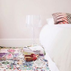 15 Cozy S.F. Bedrooms That Will Inspire A Revamp #refinery29  http://www.refinery29.com/pretty-bedroom-decor-inspiration#slide-13  Si MazouzSi Mazouz of French By Design did an excellent job of keeping things simple and incorporating just the right amount of colorful accents.