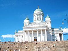 Helsinki - the church we sang in :)