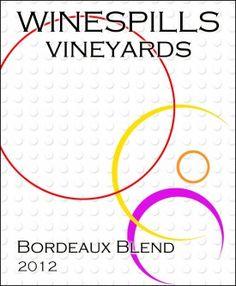 Winespill custom wine label