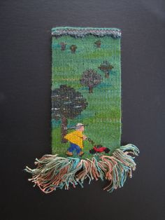 Ruth Manning tapestry. Love the stories her pieces tell!