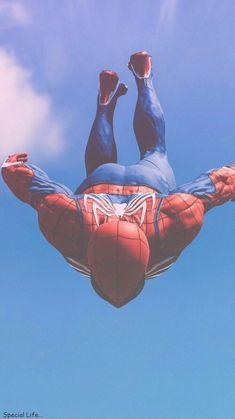 Spider Man Sky Fall iPhone Wallpaper #falliphonewallpaper Spider Man Sky Fall iP...