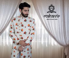 To get this look visit our store in Chandni Chowk or inbox to book an appointment with our Fashion Consultant.  #mahavircollections #mensstyle #outfit #mensfashions #lookstylish #festival #mensethnicwear #fashion #trendy #indianwedding #sherwani #shopnow #festiveseason #WeddingWear #menwithstyle #traditional #harmeetchowdhary #kurtapajama #groom #weddings #indianwear #fabrics #festivalfashion #fashio Wedding Wear, Dream Wedding, Ethnic Fashion, Mens Fashion, Gents Kurta, Mens Ethnic Wear, Mens Sherwani, Groom Wear, Indian Wear
