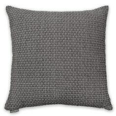 50x50cm Basket Weave cushion cover Smoke