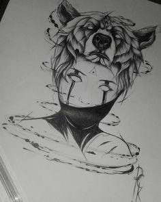 Arte desenvolvida por Patrick Alves.  @pckalves_ #dark