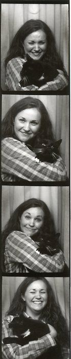 Photo Booth with a cat...