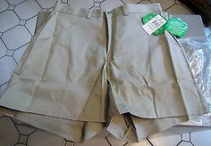 Official TAN GIRL SCOUTS CADETTE UNIFORM SHORT SHORTS L 11/12 NWT! emo hipster. $15.00.