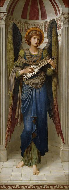 Angels Painting by John Melhuish Strudwick 1895