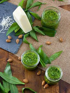 Pradobroty: Pesto z medvědího česneku Korn, Palak Paneer, Pesto, Cantaloupe, Salsa, Fruit, Ethnic Recipes, Salsa Music