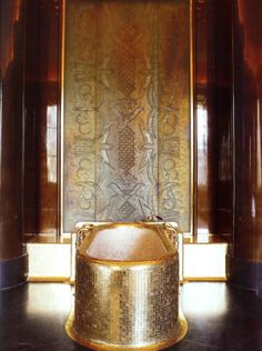 """""""Originally designed for King George VI, and his wife Elizabeth, in 1938. They are located in the Quai d'Orsay, in the building that houses the French Ministry of Foreign Affairs in Paris"""""""