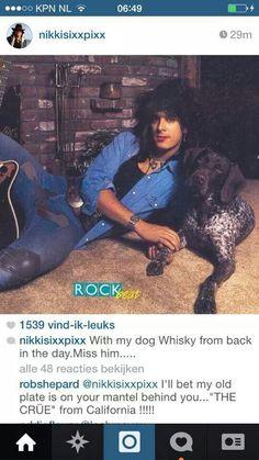 Shandi — nikki ft dogs is what i live for Rocker Style Men, Motley Crue Nikki Sixx, 80s Hair Metal, Mick Mars, Jim Morrison Movie, Vince Neil, Fantasy Art Men, Star Wars, Band Pictures