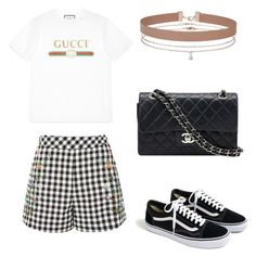 """""""Hard Rock Coffe"""" by beamiller1001 on Polyvore featuring moda, Gucci, J.Crew, Topshop, Miss Selfridge e Chanel"""
