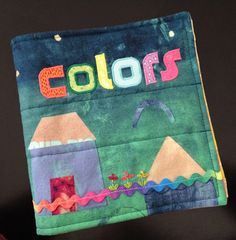Fabric book of colors 2