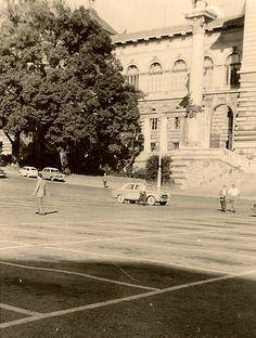 Place de la Riponne - Palais de Rumine Lausanne, Montreux, Place, Vintage Posters, Switzerland, Landscapes, Photos, Pictures, Street View