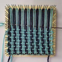 Weaving layer 1, in progress.