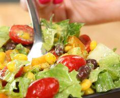 Southwest Cilantro Lime Salad - YouTube