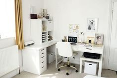Reveal -Office Reveal - Work from home: how to create the perfect study room or home office Beauty and the Chic - Office Reveal Extraordinary Small Home Office Design Ideas For Pretty Woman