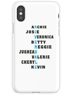 riverdale iPhone X Snap Case Funny Phone Cases, Disney Phone Cases, Diy Phone Case, Iphone Phone Cases, Iphone 7, Phone Covers, Riverdale Merch, Riverdale Cw, Riverdale Funny
