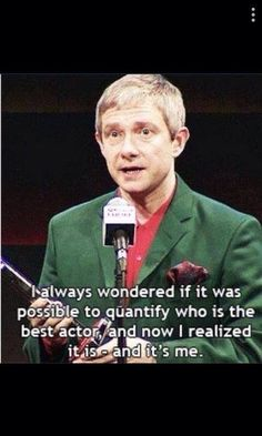 Martin Freeman. sass. pure sass. and rage…