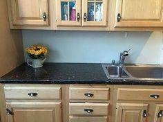faux counters still look great after 3 years, countertops, how to, kitchen design, Three years later