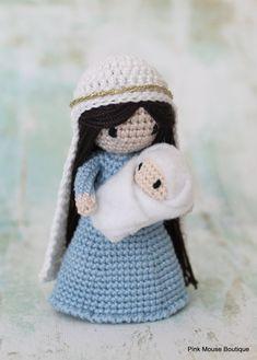 PATTERN: Crochet Nativity Crochet Amigurumi Waldorf