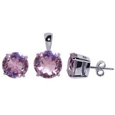Sterling Silver Earrings Pendant Set,Cubic Zirconia Earrings Pendant Set,CZ Earrings Pendant Set