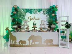 Specially Designed Baby Shower Themes for Unforgettable Moments 2019 - Page 26 of 30 - womenselegance. com - baby shower ideas;baby shower ideas for boys; Safari Party, Jungle Theme Parties, Jungle Theme Birthday, Baby Boy Birthday Themes, Baby Shower Decorations For Boys, Boy Baby Shower Themes, Baby Shower Parties, Baby Boy Shower, Babyshower Themes For Boys