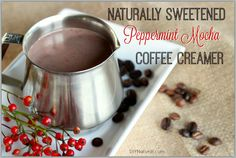 I love this homemade coffee creamer because the instant I see that first blanket of snow, I find myself craving gingerbread cookies and peppermint mochas.