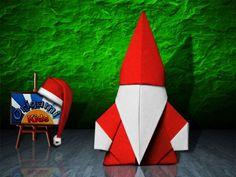 Santa Claus by Toshi Takahama