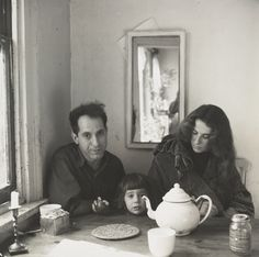 Walker Evans/ Mary and Robert Frank. image by Walker Evans ca 1958.