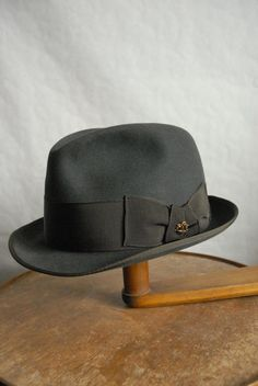 Vintage 60's Hückel Short Brimmed Fedora Hat Austrian UK 7 on Etsy, £24.99