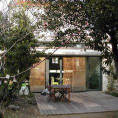 avant apr s une sur l vation zinc transforme une maison rennaise architecture home. Black Bedroom Furniture Sets. Home Design Ideas