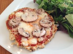 » Zero Carb Healthy Healthy Pizza!! A-DOCTOR-IN-THE-HOUSE