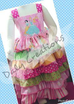 Handmade disney princess pink girl dress 18-24m by CreationsByDaly