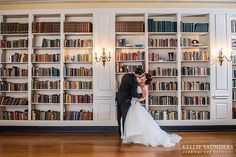 Lovett Hall Library Wedding Pictures