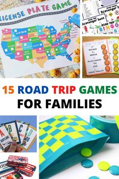 Road Trip With Kids, Family Road Trips, Travel With Kids, Family Travel, Family Vacations, Family Game Night, Family Games, Games For Kids, Travel Activities