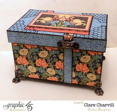 Artisan Style This N That Box designed and altered by Clare Charvill - Graphic 45