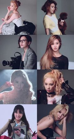'The Celebrity' releases SNSD's solo pictorial making