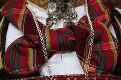 National costume (woman) from Telemark county, Norway - detail