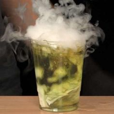 Make smoking bubbles with Steve Spangler Science