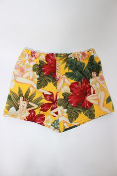 Hawaiian Shorts ... I got these last time I was on the Big Island ... only Island we go on as it's more private, I think they were $10 or somethin'