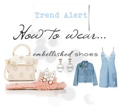 """""""Embellished Shoes"""" by stylequirk ❤ liked on Polyvore featuring Miu Miu and ZAC Zac Posen"""