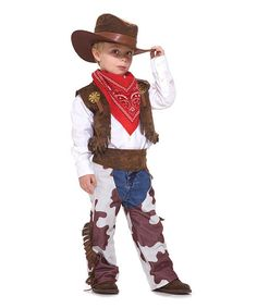 Cowboy Kid Dress-Up Set - Toddler & Boys