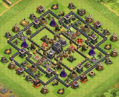 Hybrid Base Links (New! Clas Of Clan, Clash Of Clans Game, Clash Royale, Everything, Base, Layout, Page Layout