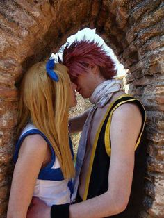 Cute cosplay ( hating NaLu a little less, just a little) Natsu Cosplay, Fairy Tail Cosplay, Cosplay Anime, Epic Cosplay, Cute Cosplay, Cosplay Outfits, Disney Cosplay, Amazing Cosplay, Cosplay Ideas