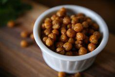Garam Masala Roasted Chickpeas | BourbonAndHoney.com